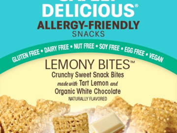 Online Listing: Safely Delicious® Lemony Bites® - 1 oz (12 units included)