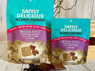 Online Listing: Safely Delicious® Mocha Bites - 1 oz (12 units included)