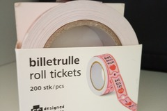 Selling without online payment: Love Roll Ticket