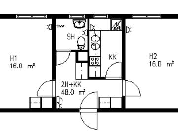 Annetaan vuokralle: Room for Rent from 18 November to 30 December  2019