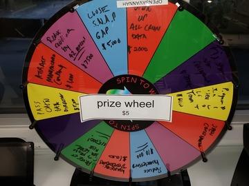 Vendiendo Productos: Prize Wheel