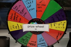 Selling Products: Prize Wheel
