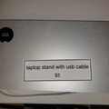 Selling Products: Laptop Stand with USB Cable