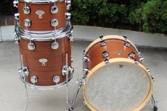 Selling with online payment: Mahogany Drum Kit