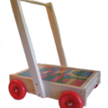 Products: NZ Made Walker Wagon with Blocks / SPECIAL PRICE for SOI MEMBERS
