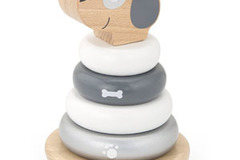 Products: Scandinavian Wooden Stacking Puppy/ SPECIAL PRICE for SOI MEMBERS