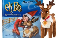 Products: Christmas Pet Reindeer + The Reindeer Tradition Book