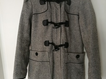 Myydään: winter coat + hat + scarf :) (women, S)