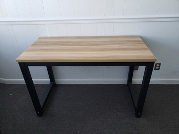 Selling Products: Wood and Metal Table