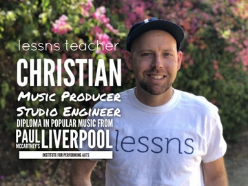 Music Production Lessns: Music Production lessns with Christian (Available via SKYPE/ZOOM)