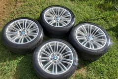 Selling: 18 inch e9x m3 stocks style 260 mint 5x120