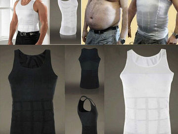 Buy Now: 50x MenBody Slimming Tummy Shape Belly Underwear Waist shirt Vest