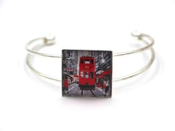: Bangle Bracelet RED