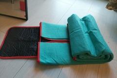 Myydään: picnic kit: blankets and mats