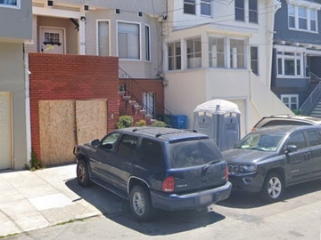 Monthly Rentals (Owner approval required): San Francisco CA, Convenient Secure Parking on 21st and Geary