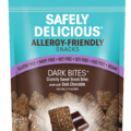 Online Listing: Safely Delicious® Dark Bites® - 3 oz (12 units included)