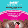 Online Listing: Safely Delicious® Raspberry Bites® - 1 oz (12 units included)