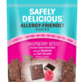 Online Listing: Safely Delicious® Raspberry Bites® - 3 oz (12 units included)