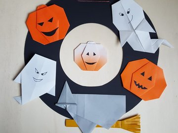 Workshop Angebot (Termine): Origami / Halloween