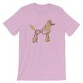Selling: LoVe T-Shirt - Poodle (Brown Design)