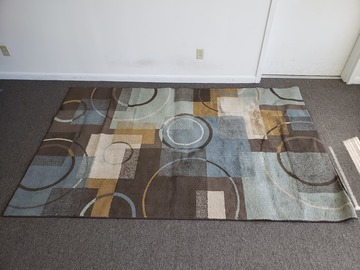 Vendiendo Productos: Area Rug (Circles and Squares)