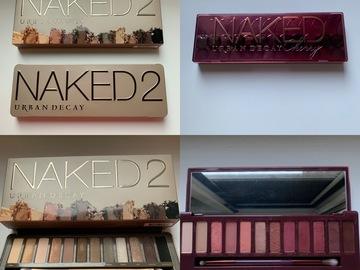 Venta: Pack paletas Naked - Urban Decay