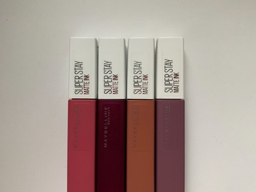Venta: Labiales Superstay Matte Ink - Maybelline