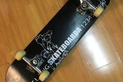 Selling with online payment: Skateboard (like new)