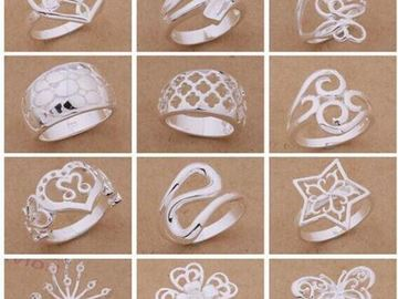 Buy Now: .925 Silver Rings for Women