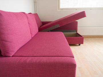 Myydään: Ikea Corner Sofa Bed with Storage