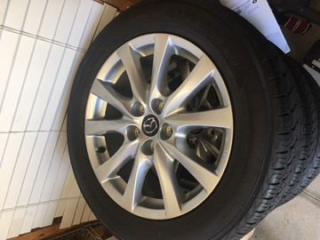 Selling: OEM Mazda 6 Sport Wheel and Tire Package - 3k miles