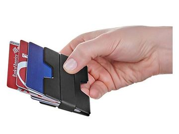 Buy Now: Wooqwin Minimalist Aluminum Slim Wallet  RFID Blockin/Money Clip