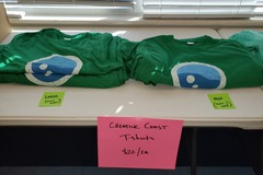 Selling Products: Creative Coast T-Shirts