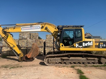 Weekly Equipment Rental: KOMATSU PC210-LC-8