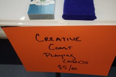 Selling Products: Creative Coast Playing Cards
