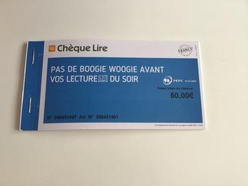 Vente: Chèques Lire (50€)
