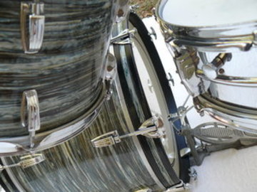 """Wanted/Looking For/Trade: Wanted: 22"""" Blue Oyster Pearl Bass Drum Hoop. 60s vintage"""
