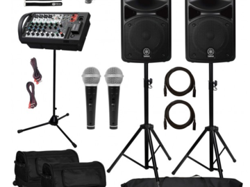 Other Rentals: Yamaha STAGEPAS 600BT Portable Powered PA System