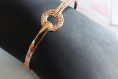 Troc: Bracelet argent rosé