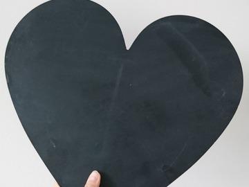 Ilmoitus: Sydän liitutaulut