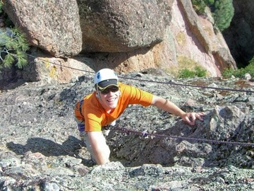 per person: Outdoor Rock Climbing