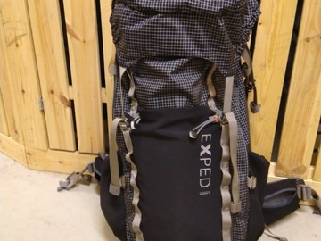 Hyr ut (per day): Exped Thunder 70l