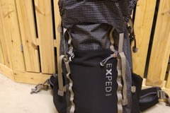 Leier ut (per day): Exped Thunder 70l