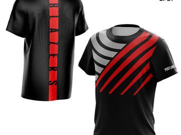 Vente avec paiement en ligne: T-shirt de basket design original DPOY t-shirt Portland Damian