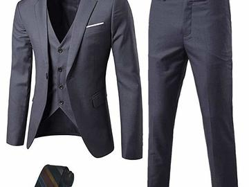Buy Now: 10 Men's 3 piece Suits- --Your cost $25.00 suit