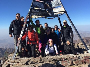 Offering with online payment: Mount toubkal trekking