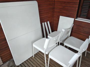 Myydään: Table + 4 chairs