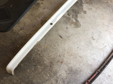 Selling with online payment: 1990 Honda Civic hatch lower trim