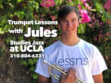 Trumpet - 60 minute: (SKYPE/ZOOM) Trumpet + DJ'ing/Mixing lessns - UCLA Music School