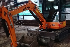 Daily Equipment Rental: Hanix 2.7 ton